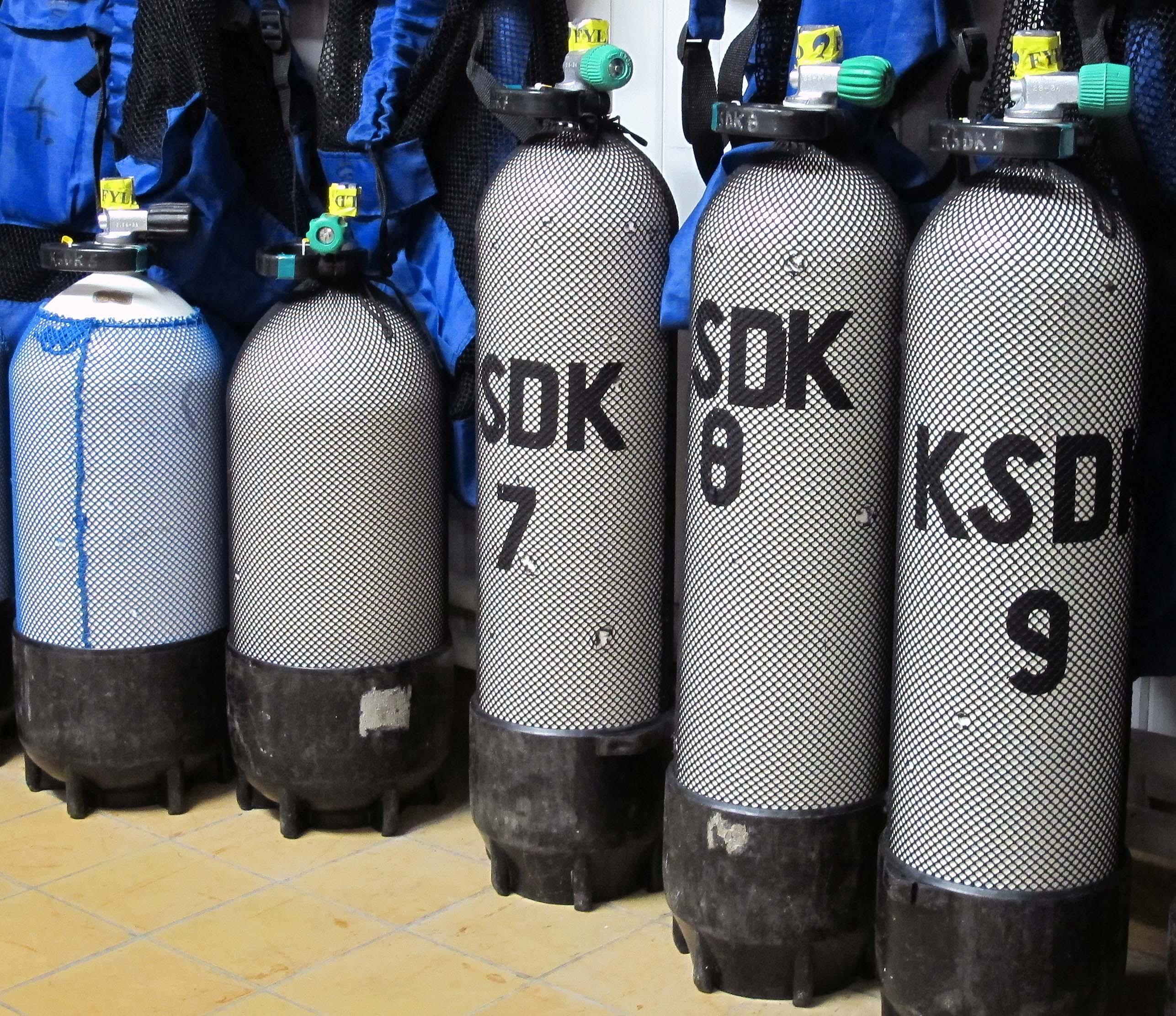 Luftflaskor
